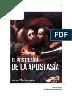 El Apostolado de La Apostasia cap. I