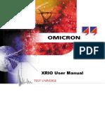 XRIO User Manual