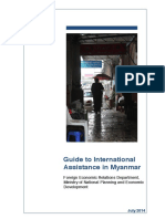 July 2014 - Guide to International Assistance in Myanmar [en]