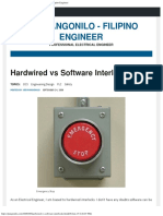Hardwired vs Software Interlocks
