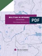 Policy Brief Militias in Myanmar ENG