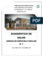 Diagnostico de Salud , Se Entrego El 31 de Enero 2018s[216]