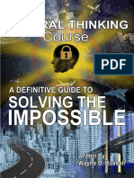 Lateral Thinking Course