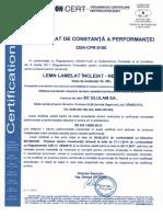 GL 28h Certificat 2014