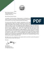 Ohio House GOP Letter to Richard Cordray