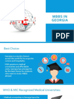 MBBS in Georgia | CanApprove