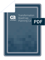 Transformation Roadmap Planning Cards