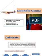 AGRESIÓN SEXUAL - Seminario Dr Valderrama