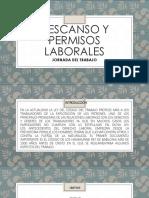 Descansos y Permisos Laborales Diapositiva