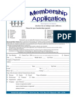 AdvoCare Inc  Membership Application