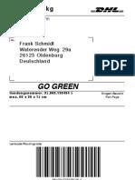 DHL-Paketmarke 9B2KMW52BEUH 1 Frank Schmidt
