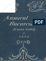 1891 - Anuarul Bucurescilor Pe Anul 1891-1892 - Harta - OCR