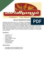 Siridhanya Product Details