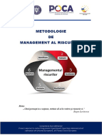 Metodologia de Management Al Riscurilor 2018