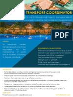 Transport Coordinator (6)