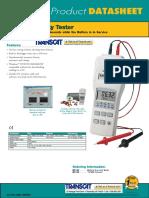 Battery Impedence Tester