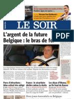 Le Soir 17 Aout 2010