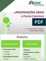 Apresentações Orais e O Poster Científico