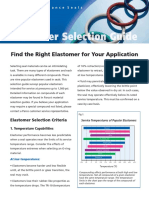 Elastomer Selection Guide
