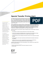 EY Further Expansion on Per 22 in New Transfer Pricing Audit Guidance