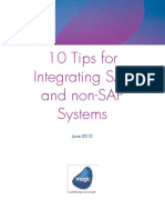 10 Tips for Integrating SAP and Non SAP
