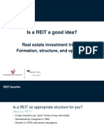 Is a Reit a Good Idea