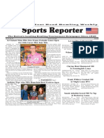 July 18 - 24, 2018  Sports Reporter