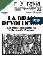 Revista Amor y Rabia Nr. 73