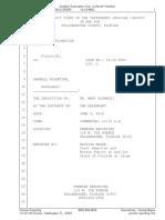 Dr. Mary Glowacki Deposition SFRX Sham Lawsuit