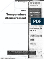 ASME ANSI Std PTC 19.3 1974 Temperature Measurement Instruments and Apparatus I