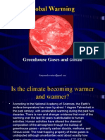 Greenhouse Gases and Climate