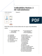 Types of Profitability Ratios_ 2 Types (With Calculations)