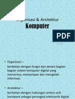 1.Organisasi & Arsitektur