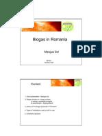 Biogas in Romania
