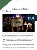 Victor Davis Hanson/ White Privilege's Strange Career _ National Review