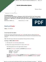 Check Fuel Level Sender
