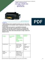 Como Ajustar [Pg] (Planten Gap) - Epson l800 - Epson l801 - Impressora