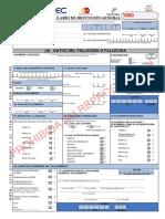 Formulario Defuncion General 2016