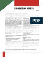 Pravilnik o Proizvodima Od Mesa_2007