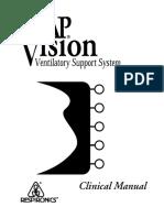 Respironics BiPAP Vision - Clinical Manual