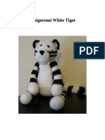 Amigurumi White Tiger