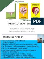 (2) Farmakoterapi Stroke