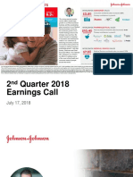 JNJ Earnings Presentation 2Q2018