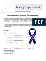 Embracing Hope Project Information
