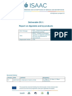 D5.1 Report on Digestate and Byproduct