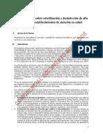 Norma Técnica de Esterilización y DAN 13-10-2017