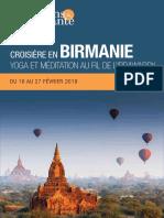 Birmanie, Yoga et méditation au fil de l'Irrawaddy