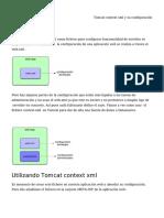 Tomcat Context XML y Su Configuración