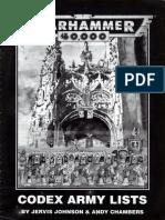 Black Codex (2nd Ed)