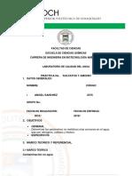 Informe Calidad Nitratos y Sulfatos